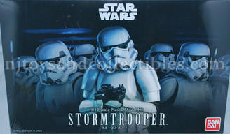 Star Wars Stormtrooper Bandai Star Wars Character Model Kit