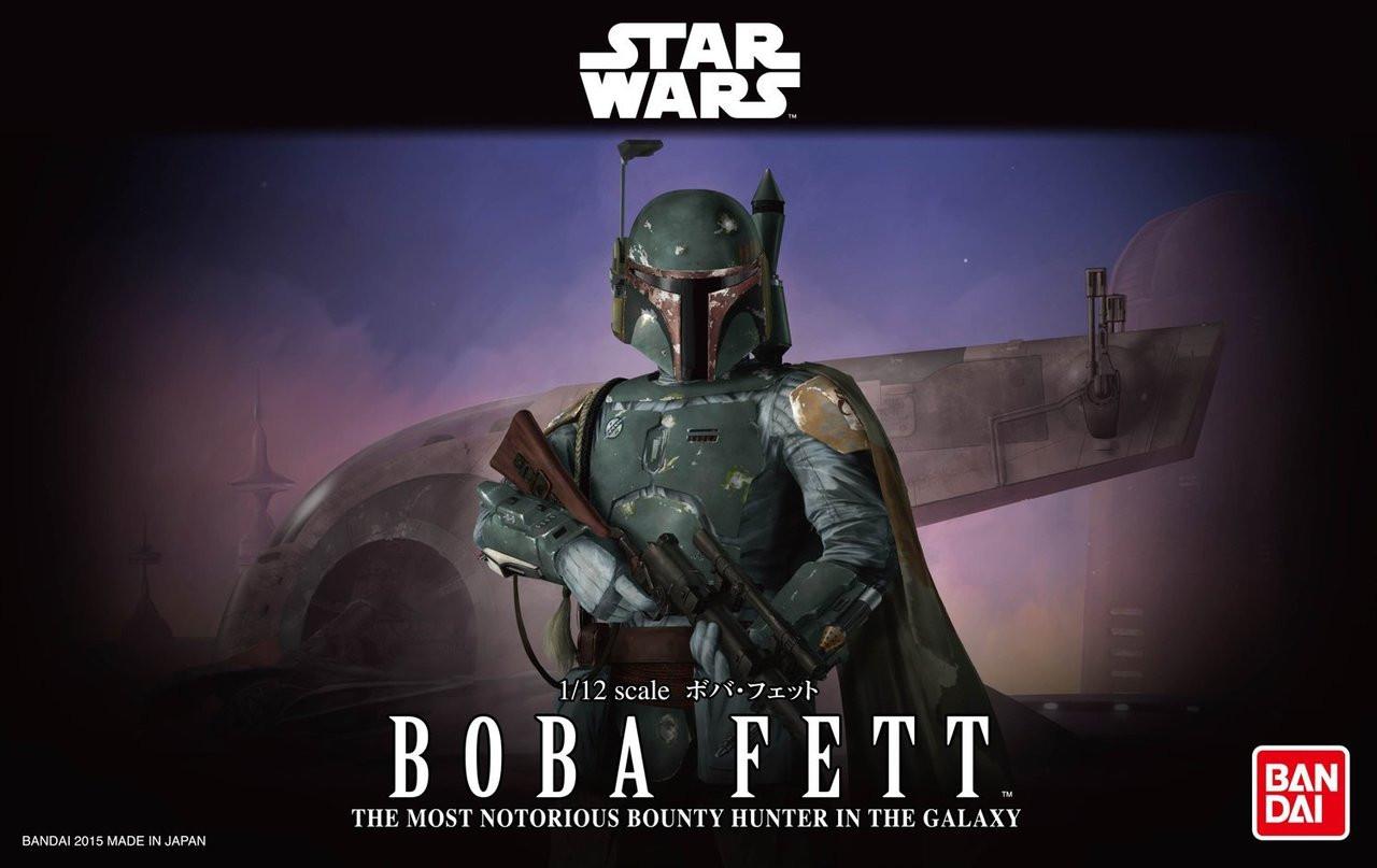 Star Wars Boba Fett Bandai Star Wars Character Model Kit