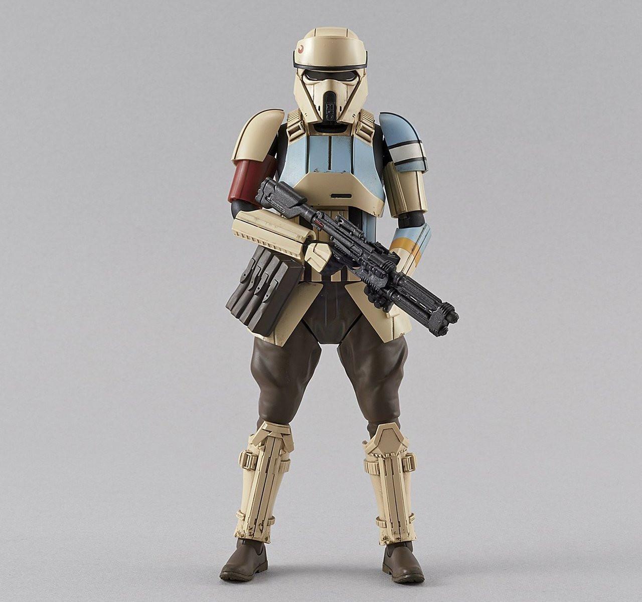Star Wars Rogue One Shoretrooper Bandai Star Wars Character Model Kit