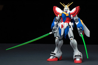 Gundam Master Grade: God Gundam G Gundam Model Kit
