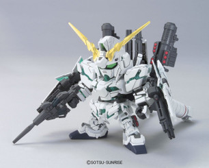 Gundam Super Deformed: Knight Unicorn Gundam Model Kit