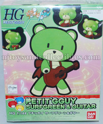 Gundam High Grade: BFT SurfGreen Petit-Beargguy with Guitar
