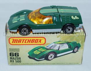 Matchbox #66 Mazda RX 500 Diecast Vehicle
