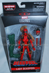 Deadpool Marvel Legends 6-Inch Wave 2: Lady Deadpool Action Figure