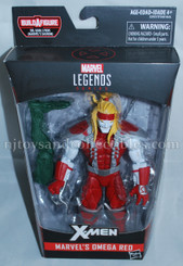 Deadpool Marvel Legends 6-Inch Wave 2: Omega Red Action Figure