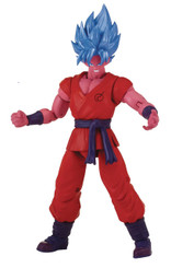 Dragonball Super Dragon Stars Wave H: 6-Inch SS Blue Kaioken x10 Goku Action Figure