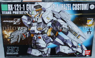 Gundam High Grade: #56 Gundam TR-1 Hazel Custom Advance of Zeta