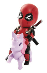 MARVEL COMICS DEADPOOL UNICORN PONY PX FIGURE