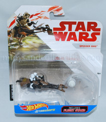 Star Wars Hot Wheels Starship: Speeder Bike with Biker Scout
