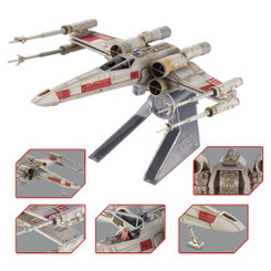Star Wars Hot Wheels Elite Die-Cast Metal X-Wing Starfighter Vehicle