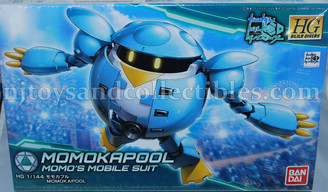 Gundam High Grade: Build Divers MomoKapool Model Kit