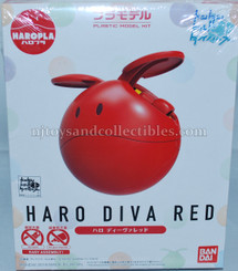 Gundam High Grade: Build Divers Haro Diva Red Model Kit
