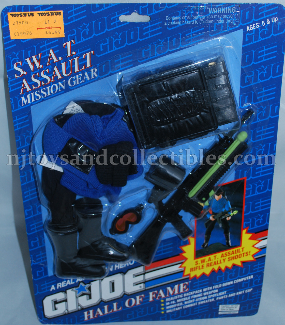 GI Joe Hall of Fame SWAT Assault Mission Gear Pack