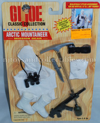 GI Joe Classic Collection Arctic Mountain Mission Gear Pack