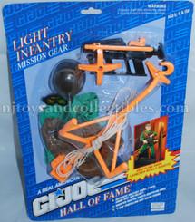 GI Joe Hall of Fame Light Infantry Mission Gear Pack