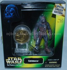 Star Wars POTF2 Chewbacca with Coin