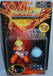 Dragonball Z Super Saiyan Goku Figure with Blasting Energy Action