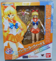 Sailor Moon Super Sailor Venus  S.H.Figuarts