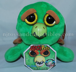 Feisty Pets: Louis Ladykiller Green Turtle Plush Animal