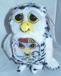 Feisty Pets: Henry Whodunnit Snow Owl Plush Animal