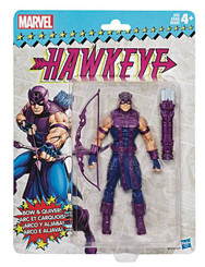 Marvel Legends Super Heroes Vintage 6-Inch Figures Wave 2: Hawkeye