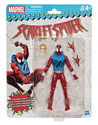 Marvel Legends Super Heroes Vintage 6-Inch Figures Wave 2: Scarlet Spider