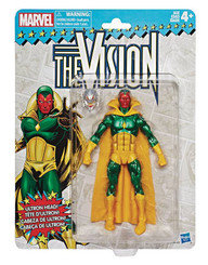Marvel Legends Super Heroes Vintage 6-Inch Figures Wave 2: The Vision