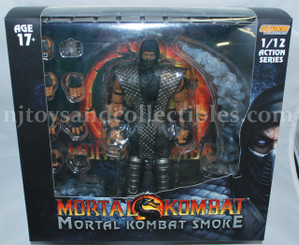 Mortal Kombat NYCC Exclusive 1/12 Scale Smoke Premium Action Figure