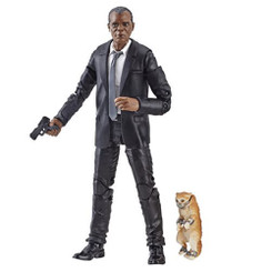 Marvel Legends Captain Marvel Wave 1 Nick Fury 6-Inch Action Figure