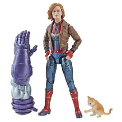 Marvel Legends Captain Marvel Wave 1 Captain Marvel in Bomber Jacket 6-Inch Action Figure