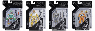 Star Wars Archive Series Wave 1 Set of 4 Action Figures