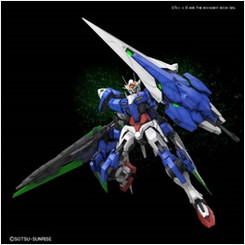 Gundam Perfect Grade: Gundam 00 Gundam Seven Sword Model Kit