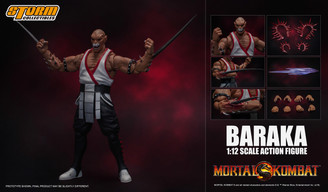 Mortal Kombat Baraka Storm Collectibles 1:12 Scale Premium Action Figure