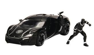 Metal Marvels: Black Panther Lykan 1:24 Scale Diecast Vehicle