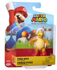Nintendo World of Nintendo Fire Hammer Brother 4-Inch Action Figure