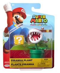 Nintendo World of Nintendo Piranha Plant 4-Inch Action Figure