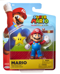 Nintendo World of Nintendo Super Mario 4-Inch Action Figure