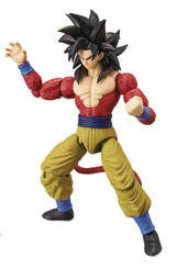 Dragonball Super Dragon Stars Wave Z: SS4 Goku 6-Inch Action Figure