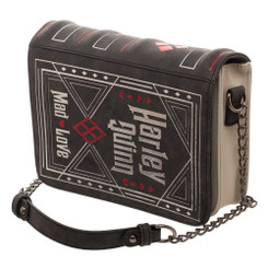DC Comics Harley Quinn Storybook Handbag Clutch