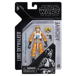 Star Wars Archive Series Wave 1: Luke X-Wing 6-Inch Action Figure, Not Mint Packaging