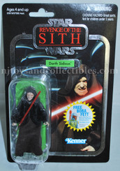 Star Wars Vintage Collection Revenge of the Sith Darth Sidious Action Figure with Offer