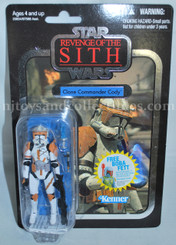 Star Wars Vintage Collection Revenge of the Sith Clone Commander Cody  Action Figure with Offer
