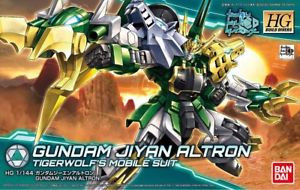 Gundam High Grade: Jiyan Altron Build Divers Model Kit