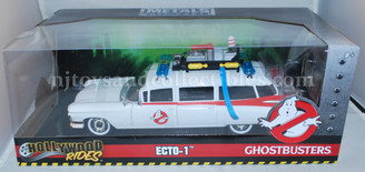 Diecast Vehicles: Ecto-1 Ghostbusters Vehicle