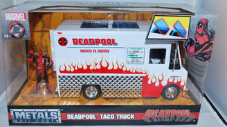 Diecast Vehicles: Deadpool's Taco Truck Vehicle with Diecast Figure