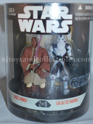 Star Wars  30th Anniversary Order 66 Mace Windu & Galactic Marine Two Pack