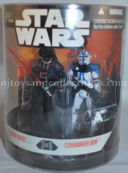 Star Wars  30th Anniversary Order 66 Darth Vader &  Commander Bow Two Pack