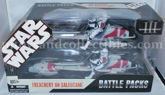 Star Wars 30th Anniversary Exclusive Treachery on Saleucami Battle Packs