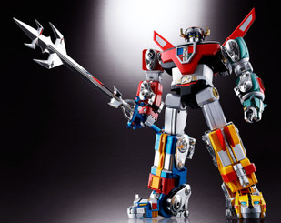 Soul of Chogokin Diecast GX-71 Voltron from Bandai