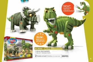 Bloco Foam Builders: T-Rex & Triceratops
